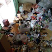 京都府向日市のゴミ屋敷のお宅内部写真1