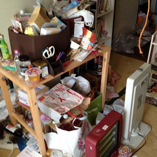 京都府向日市のゴミ屋敷のお宅内部写真3